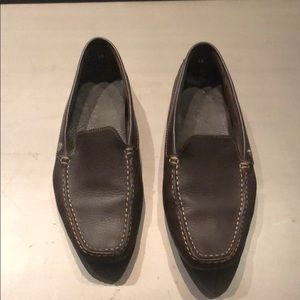 TOD'S Brown Leather Loafer